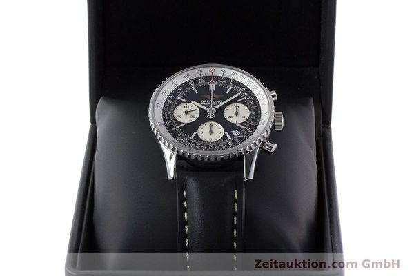 Used luxury watch Breitling Navitimer chronograph steel automatic Kal. B23 ETA 7753 Ref. A23322  | 161266 07