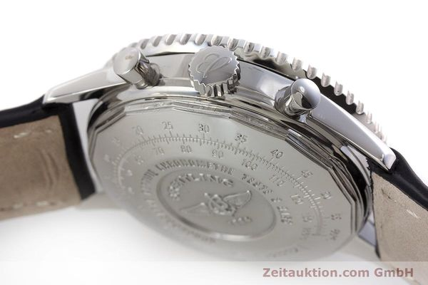 Used luxury watch Breitling Navitimer chronograph steel automatic Kal. B23 ETA 7753 Ref. A23322  | 161266 08