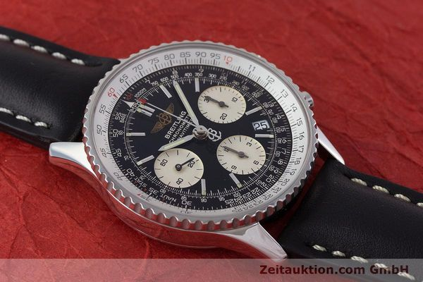 Used luxury watch Breitling Navitimer chronograph steel automatic Kal. B23 ETA 7753 Ref. A23322  | 161266 11