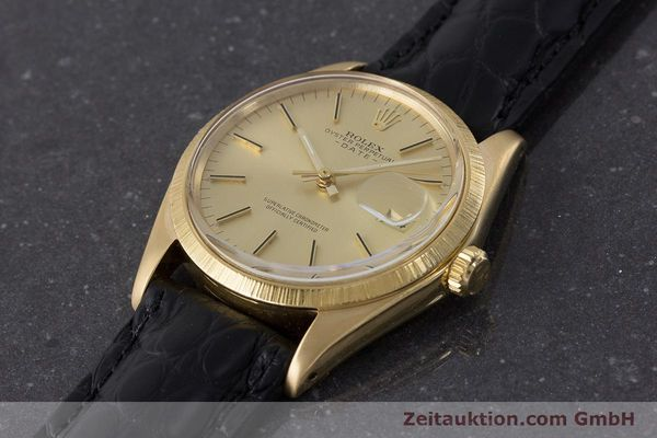 Used luxury watch Rolex Date 18 ct gold automatic Kal. 1570 Ref. 1511  | 161267 01