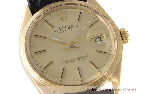 Used luxury watch Rolex Date 18 ct gold automatic Kal. 1570 Ref. 1511  | 161267 02