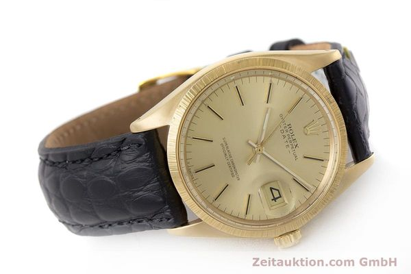 Used luxury watch Rolex Date 18 ct gold automatic Kal. 1570 Ref. 1511  | 161267 03