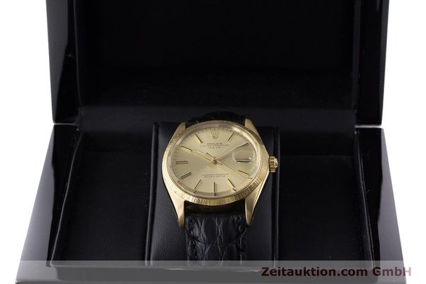 Used luxury watch Rolex Date 18 ct gold automatic Kal. 1570 Ref. 1511  | 161267 07
