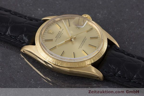 Used luxury watch Rolex Date 18 ct gold automatic Kal. 1570 Ref. 1511  | 161267 13