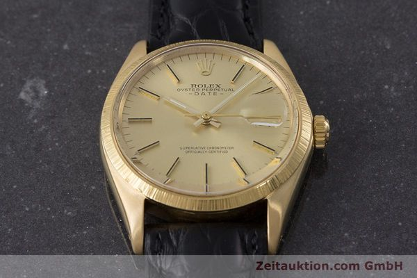 Used luxury watch Rolex Date 18 ct gold automatic Kal. 1570 Ref. 1511  | 161267 14