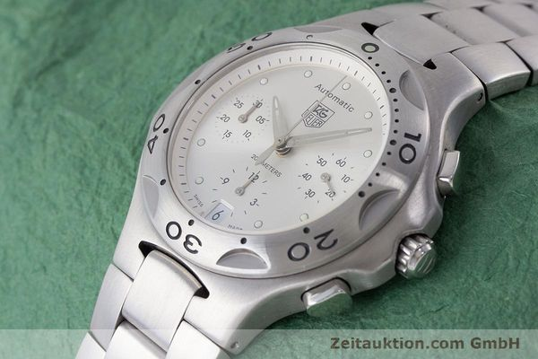 Used luxury watch Tag Heuer Kirium chronograph steel automatic Kal. ETA 2894-2 Ref. CL2110  | 161268 01
