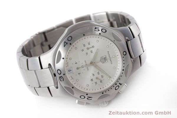 Used luxury watch Tag Heuer Kirium chronograph steel automatic Kal. ETA 2894-2 Ref. CL2110  | 161268 03
