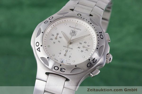Used luxury watch Tag Heuer Kirium chronograph steel automatic Kal. ETA 2894-2 Ref. CL2110  | 161268 04
