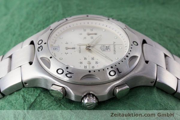 Used luxury watch Tag Heuer Kirium chronograph steel automatic Kal. ETA 2894-2 Ref. CL2110  | 161268 05