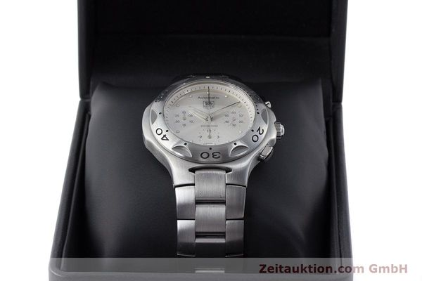 Used luxury watch Tag Heuer Kirium chronograph steel automatic Kal. ETA 2894-2 Ref. CL2110  | 161268 07