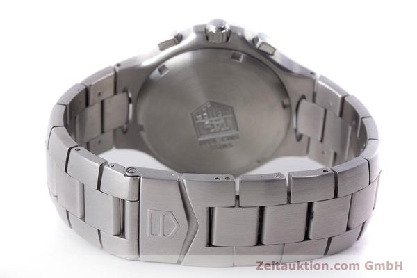Used luxury watch Tag Heuer Kirium chronograph steel automatic Kal. ETA 2894-2 Ref. CL2110  | 161268 11