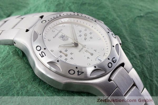 Used luxury watch Tag Heuer Kirium chronograph steel automatic Kal. ETA 2894-2 Ref. CL2110  | 161268 14