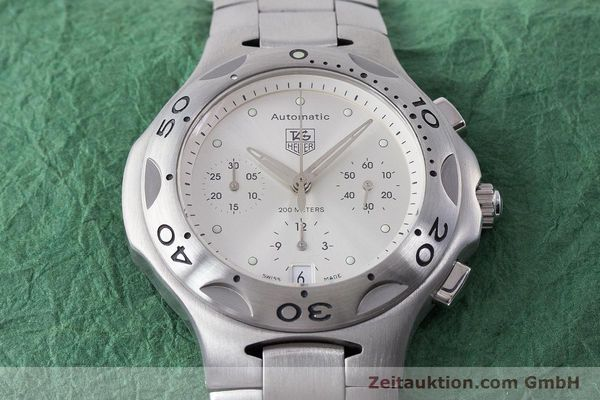 Used luxury watch Tag Heuer Kirium chronograph steel automatic Kal. ETA 2894-2 Ref. CL2110  | 161268 15