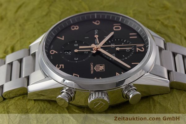 Used luxury watch Tag Heuer Carrera chronograph steel automatic Kal. 1887 Ref. CAR2014-2  | 161269 05