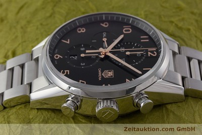 TAG HEUER CARRERA CHRONOGRAPH STEEL AUTOMATIC KAL. 1887 LP: 4300EUR [161269]