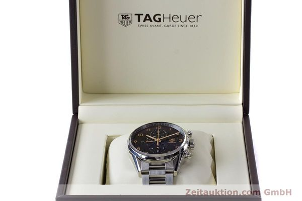 Used luxury watch Tag Heuer Carrera chronograph steel automatic Kal. 1887 Ref. CAR2014-2  | 161269 07