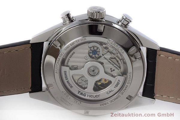 Used luxury watch Tag Heuer Carrera chronograph steel automatic Kal. 1887 Ref. CAR2014-2  | 161269 09