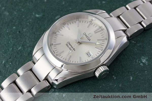 Used luxury watch Omega Seamaster steel quartz Kal. 1424 ETA 256.461  | 161273 01