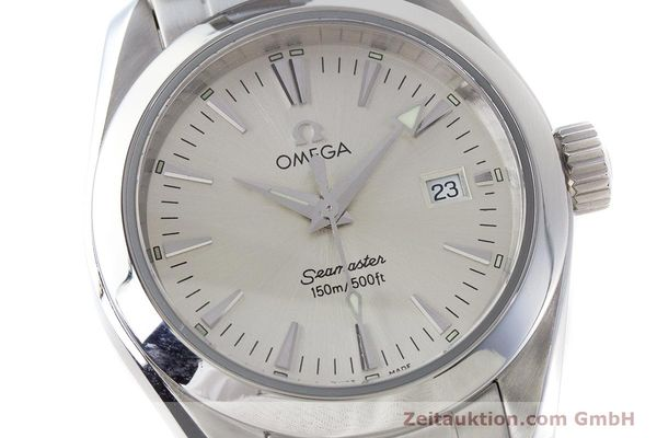 Used luxury watch Omega Seamaster steel quartz Kal. 1424 ETA 256.461  | 161273 02