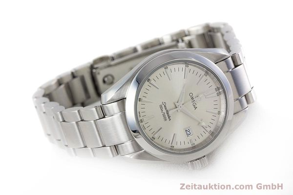 Used luxury watch Omega Seamaster steel quartz Kal. 1424 ETA 256.461  | 161273 03