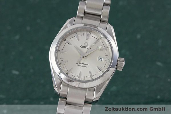 Used luxury watch Omega Seamaster steel quartz Kal. 1424 ETA 256.461  | 161273 04