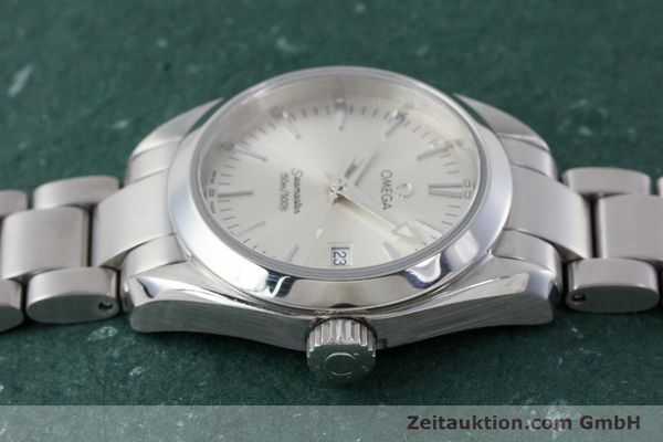 Used luxury watch Omega Seamaster steel quartz Kal. 1424 ETA 256.461  | 161273 05