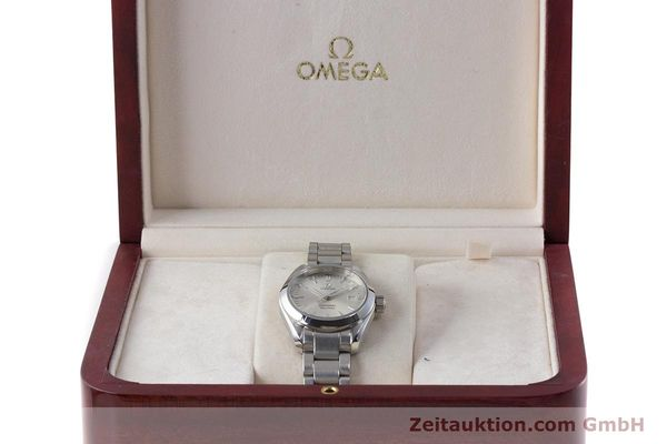 Used luxury watch Omega Seamaster steel quartz Kal. 1424 ETA 256.461  | 161273 07