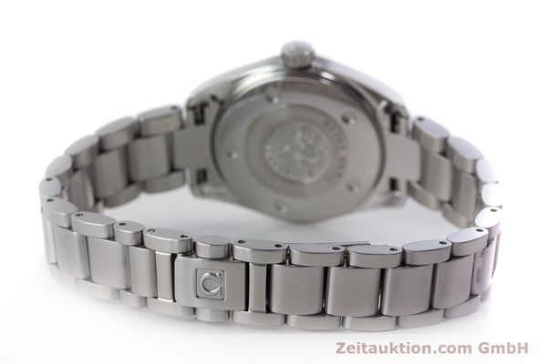 Used luxury watch Omega Seamaster steel quartz Kal. 1424 ETA 256.461  | 161273 10