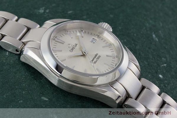 Used luxury watch Omega Seamaster steel quartz Kal. 1424 ETA 256.461  | 161273 13