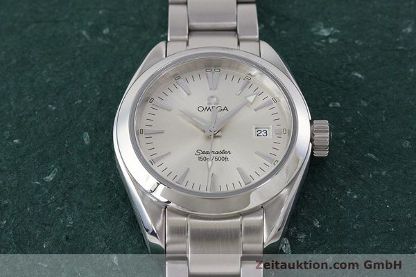 Used luxury watch Omega Seamaster steel quartz Kal. 1424 ETA 256.461  | 161273 14