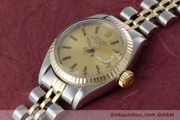Used luxury watch Rolex Lady Date steel / gold automatic Kal. 2030 Ref. 6917  | 161275 01