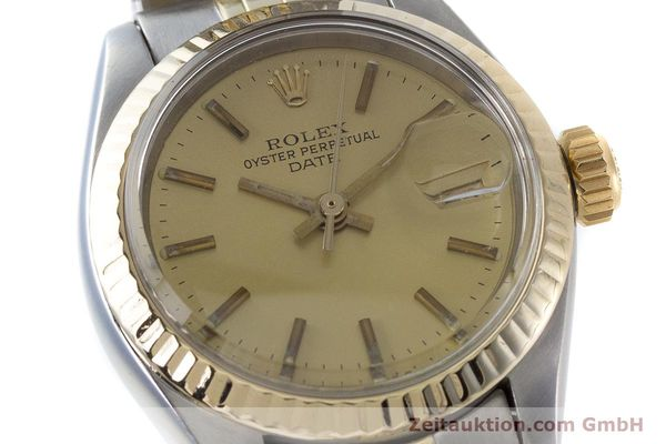 Used luxury watch Rolex Lady Date steel / gold automatic Kal. 2030 Ref. 6917  | 161275 02