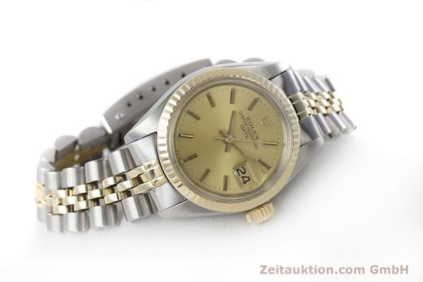 Used luxury watch Rolex Lady Date steel / gold automatic Kal. 2030 Ref. 6917  | 161275 03
