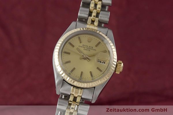 Used luxury watch Rolex Lady Date steel / gold automatic Kal. 2030 Ref. 6917  | 161275 04