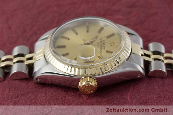 Used luxury watch Rolex Lady Date steel / gold automatic Kal. 2030 Ref. 6917  | 161275 05