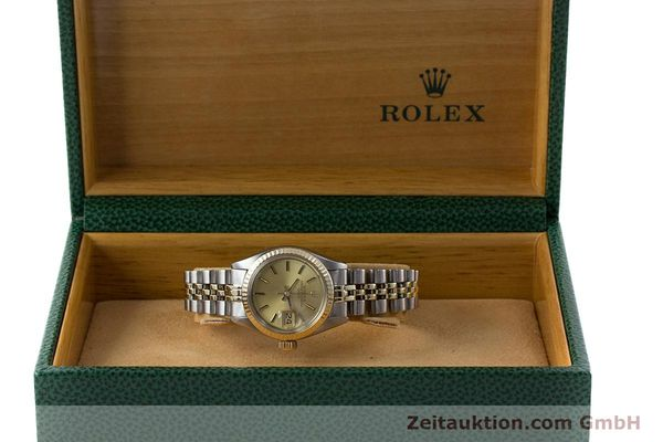 Used luxury watch Rolex Lady Date steel / gold automatic Kal. 2030 Ref. 6917  | 161275 07