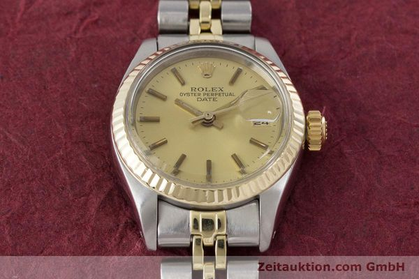 Used luxury watch Rolex Lady Date steel / gold automatic Kal. 2030 Ref. 6917  | 161275 16