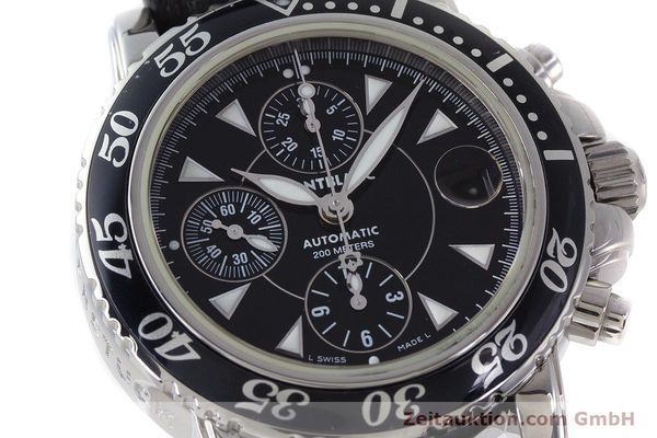 Used luxury watch Montblanc Sport Chronograph chronograph steel automatic Kal. 4810501 Ref. 7034  | 161279 02