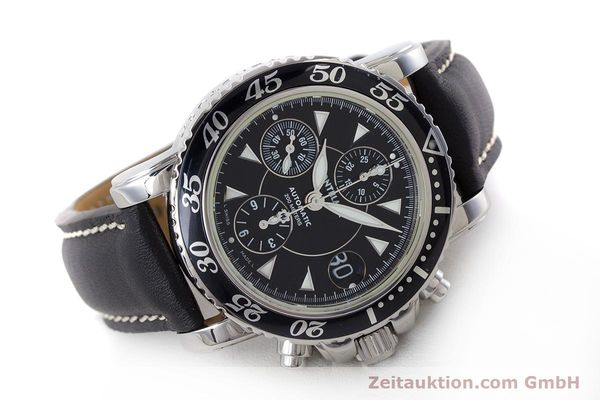 Used luxury watch Montblanc Sport Chronograph chronograph steel automatic Kal. 4810501 Ref. 7034  | 161279 03
