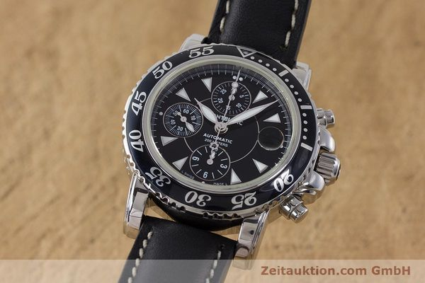 Used luxury watch Montblanc Sport Chronograph chronograph steel automatic Kal. 4810501 Ref. 7034  | 161279 04