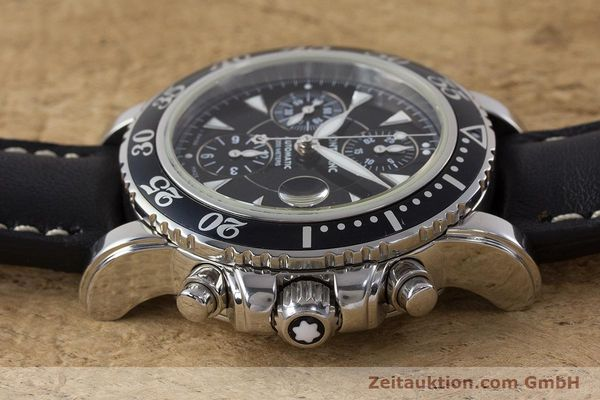 Used luxury watch Montblanc Sport Chronograph chronograph steel automatic Kal. 4810501 Ref. 7034  | 161279 05
