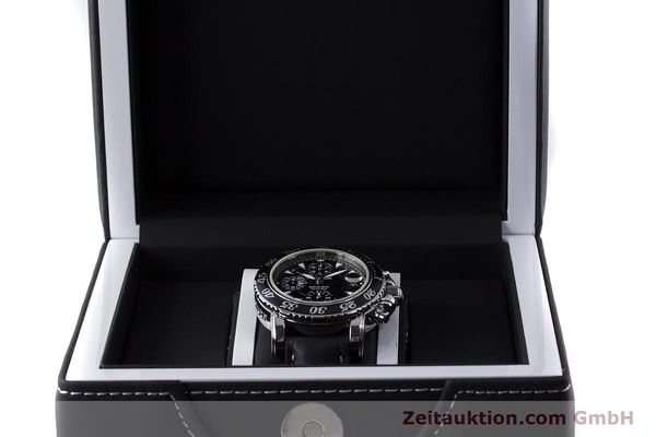 Used luxury watch Montblanc Sport Chronograph chronograph steel automatic Kal. 4810501 Ref. 7034  | 161279 07