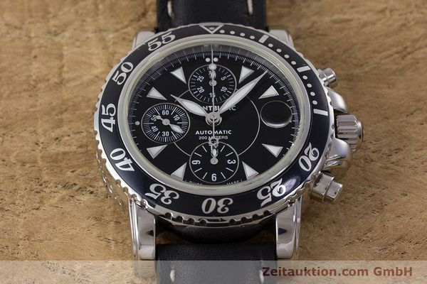 Used luxury watch Montblanc Sport Chronograph chronograph steel automatic Kal. 4810501 Ref. 7034  | 161279 14