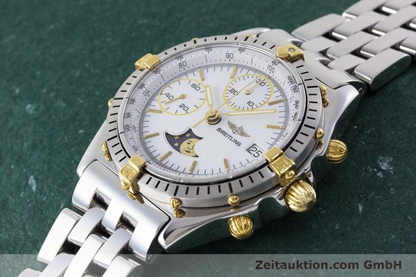 Used luxury watch Breitling Chronomat chronograph steel / gold automatic Kal. Val. 7758 Ref. 81950  | 161280 01