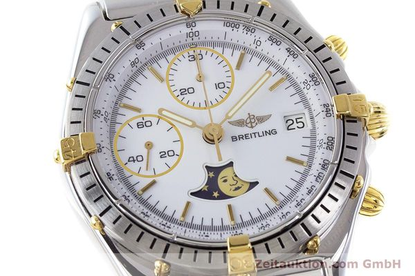 Used luxury watch Breitling Chronomat chronograph steel / gold automatic Kal. Val. 7758 Ref. 81950  | 161280 02