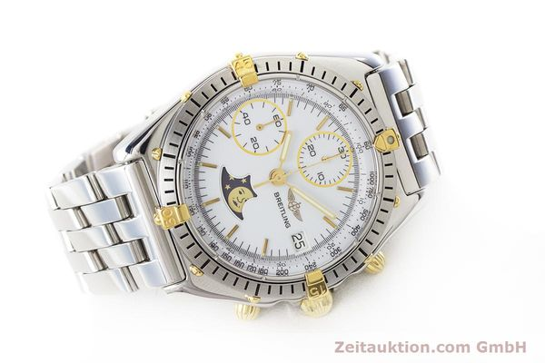 Used luxury watch Breitling Chronomat chronograph steel / gold automatic Kal. Val. 7758 Ref. 81950  | 161280 03