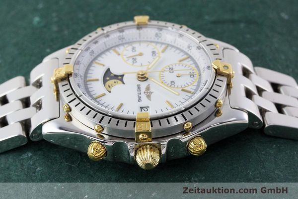 Used luxury watch Breitling Chronomat chronograph steel / gold automatic Kal. Val. 7758 Ref. 81950  | 161280 05