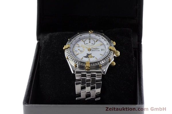 Used luxury watch Breitling Chronomat chronograph steel / gold automatic Kal. Val. 7758 Ref. 81950  | 161280 07