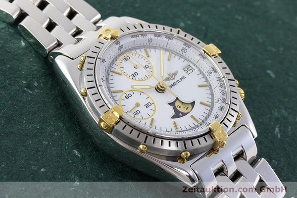Used luxury watch Breitling Chronomat chronograph steel / gold automatic Kal. Val. 7758 Ref. 81950  | 161280 15