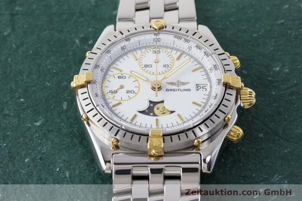 Used luxury watch Breitling Chronomat chronograph steel / gold automatic Kal. Val. 7758 Ref. 81950  | 161280 16